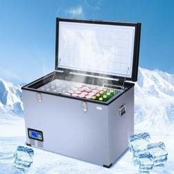 100-Quart Camping Portable Electric Car Cooler Refrigerator