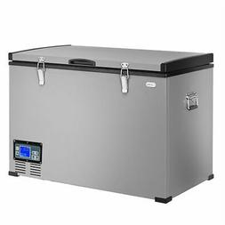 100-Quart Portable Electric Car Cooler Refrigerator / Freeze