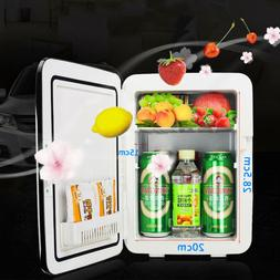 110V/12V Car Portable 10L Mini Warm Fridge Home Office Warme