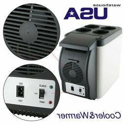 12V 6L Capacity Portable Car Refrigerator Cooler Warmer Truc