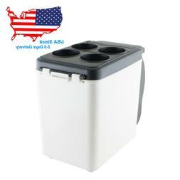 US SELL 12V Car Refrigerator 6L Portable Cooler Fridge for T