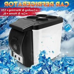 12V Portable 6L Electric Car Mini Fridge Refrigerator Cooler