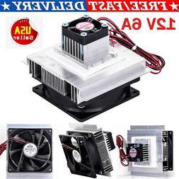 12V Thermoelectric Peltier Refrigeration Cooling Cooler Fan