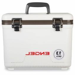 Engel 13 Qt. Lightweight Watertight Cooler/Dry Box White UC1