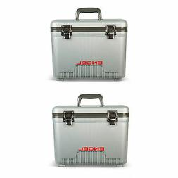 Engel 13 Quart Fishing Dry Box Cooler with Shoulder Strap, S