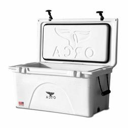 ORCA 140 QT WHITE COOLER LIFETIME WARRANTY - NEW WHITE 140 Q