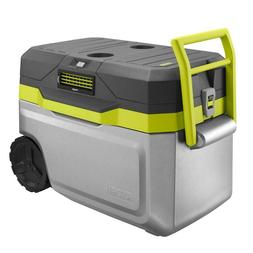50 Qt. Air Cooler 18-Volt with 1.3 Ah Battery and Charger Ha