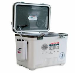 Engel 19 Qt. Live Bait Dry Box/Cooler White LBC19-N