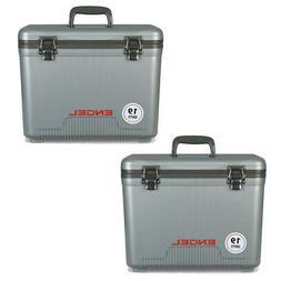 Engel 19 Quart Lightweight Bait Dry Box Ice Cooler with Shou