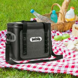 1Pcs Can Cooler Bag Soft Sided Collapsible Insulated Lunch C