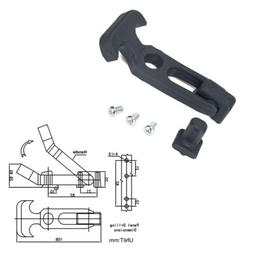 2 PACK Rubber Flexible T-Handle Hasp Draw Latch M5 for Toolb