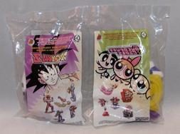 2002 Burger King Toy Powerpuff Girls DragonBall Z Cooler Bla