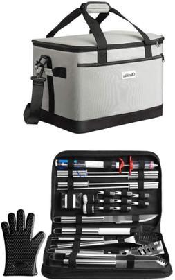 OlarHike 25PCS BBQ Grilling Accessories Grill Tools Set & Ol