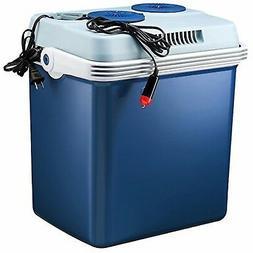 Knox 27 Quart Electric Car Refrigerator Cooler and Food Warm