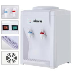 Electric Hot & Cold Water Dispenser Top Load Cooler Desktop