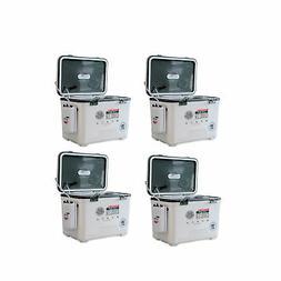 Engel 30 Quart Hard Sided Live Bait Fishing Dry Box Coolers,