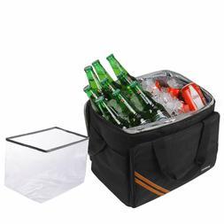 HANIC 30L Large Cooler Bag Soft Cooler Insulated Leakproof C