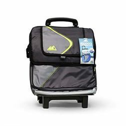 Arctic Zone 35 Can Rolling Cooler Cart- Collapsible, Leak Pr