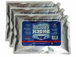 "Cooler Shock 3X Lg. Zero°F Cooler Freeze Packs 10""x14"" - No"