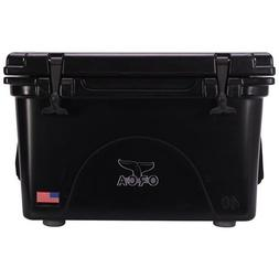 40 qt black cooler lifetime warranty black
