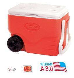 Coleman Performance Wheeled Cooler, 40 Quart