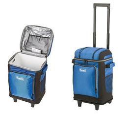 Coleman 42-Can Soft Cooler with Removable Liner & Wheels, Mu