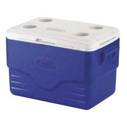 COLEMAN 6281A718G Personal Cooler,36 qt,46 Cans,Blue,White