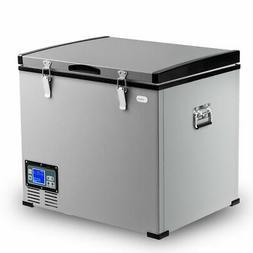63-Quart Portable Electric Car Cooler Refrigerator / Freezer