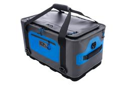 AO Coolers 64 Can Hybrid Cooler, Blue/Gray, Oversized, AOHY6