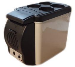 6L Portable 12v Mini Car Freezer Cooler Warmer Electric Frid