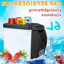 6L Portable Electric Car Mini Fridge Refrigerator Cooler War