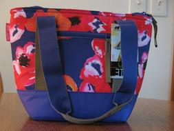 Arctic Zone 8 Can Insulated Tote Cooler Lunch Bag Floral The