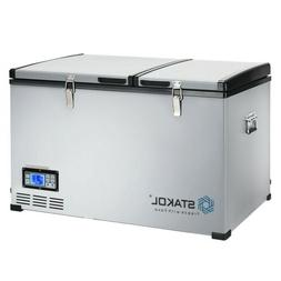 84-Quart Portable Compressor Camping Electric Car Cooler Ice