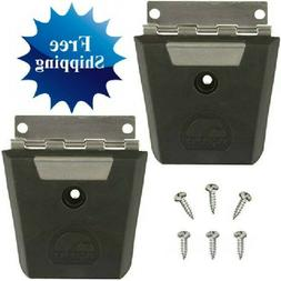 Igloo Hybrid Stainless and Plastic Latch  - Black/Silver