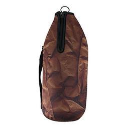 """Mancave """"Paper Bag""""  Bottle Holder, 40-Ounce, Black"""