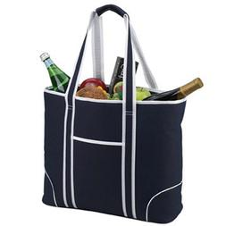 Picnic at Ascot 421B Large Insulated Tote in Navy