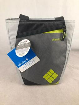 COLUMBIA Access Point Insulated Lunch Tote Grey & Lime Coole