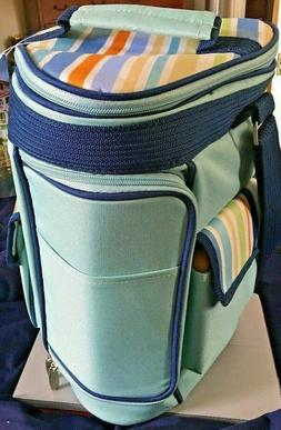 Picnic Time - Activo Insulated Cooler Tote, St. Tropez with