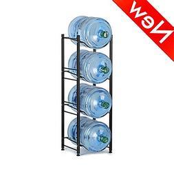 Best 4-Tier Water Cooler Jug Rack Heavy Duty Water Bottle Ho