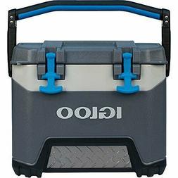 Igloo BMX 25 Quart Cooler - Carbonite Gray/Carbonite Blue