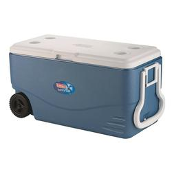 100-Quart Extreme 5-Day Heavy-Duty Cooler with Wheels Blue C