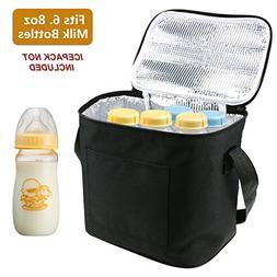 Breast Milk Baby Bottle Cooler Bag, Homga Breastmilk Insulat