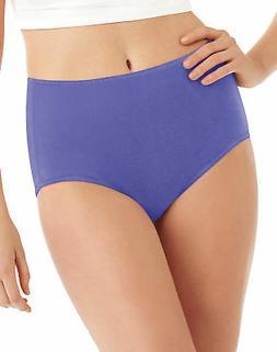 Hanes Brief Panties Womens 8 Pack Microfiber Cool Comfort As