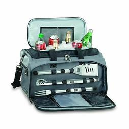 Picnic Time Buccaneer Grill, BBQ Tools and Grill Tote
