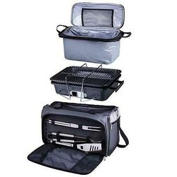 Picnic Time Buccaneer Tailgating Cooler with Grill Outdoor P