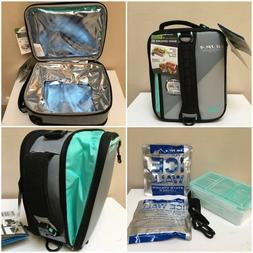 carry insulated lunch box bento cooler bag