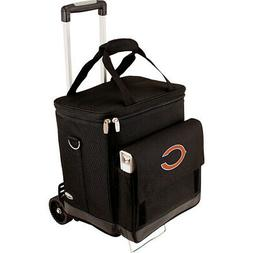 Picnic Time Chicago Bears Cellar w/Trolley - Chicago Outdoor