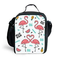 Childrens Cool Insulated Cooler Bag Lunch Box Picnic Organiz
