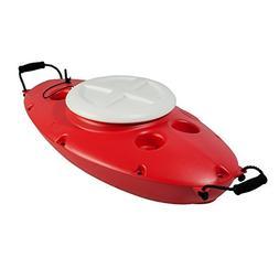 CK00210R Creek Kooler 30 Quart Floating Cooler-Cardinal Red