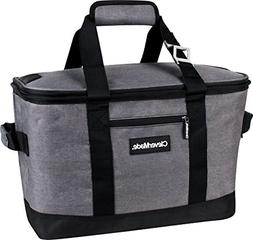 Collapsible Cooler Bag Leakproof 50 Can Soft Sided Portable